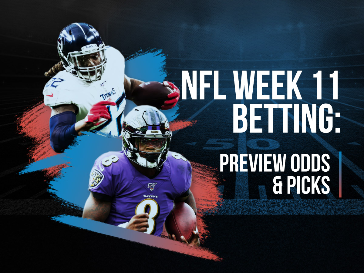 NFL Week 11 Betting Preview Odds & Picks