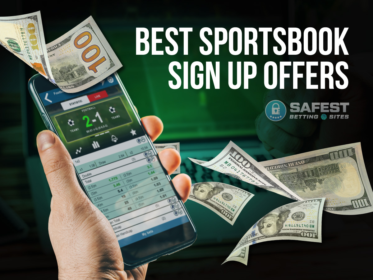 Best sign up offers betting free betting tips 1x2