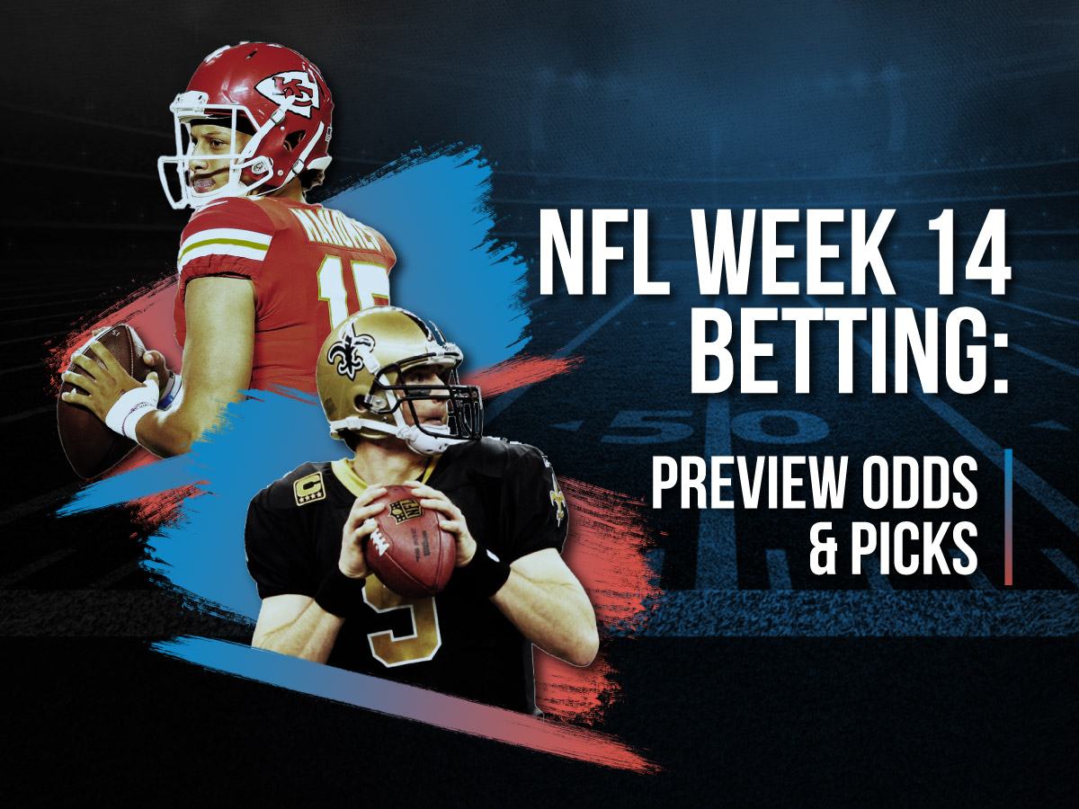 NFL Week 14 Betting Preview Odds & Picks