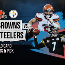 Browns vs Steelers Wild Card Odds & Pick