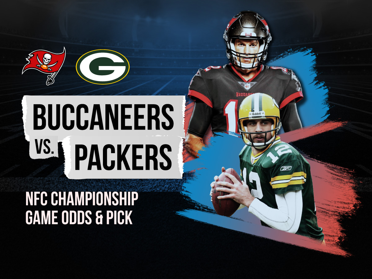 buccaneers vs packers conference tournament odds and pick