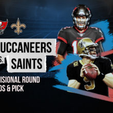 Buccaneers vs Saints Divisional Round Odds Pick