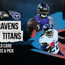 Ravens vs Titans Wild Card Odds & Pick