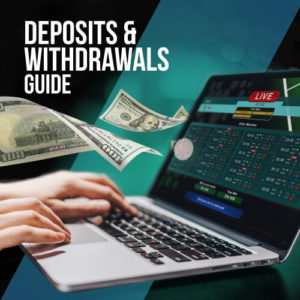 Betting site withdrawals and deposits