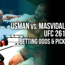 Usman vs Masvidal betting odds and pick