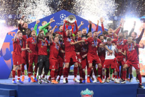 Consider Past Champions League Results - Liverpool won the competition in 2019