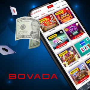 low 10 dollar deposit at Bovada for USA players