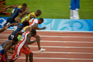 Track events at the Olympic Games